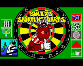 Bully's Sporting Darts Loading Screen For The Amiga 500