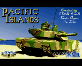 Pacific Islands Loading Screen For The Amiga 500