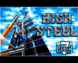 High Steel Loading Screen For The Amiga 500