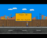 High Steel Screenshot 1 (Amiga 500)