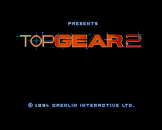 Top Gear 2 (Cd) For The Amiga 1200