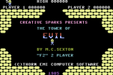 Tower Of Evil Screenshot 0 (Commodore 16/Plus 4)