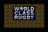 """World Class Rugby (5.25"""" Disc) For The Commodore 64/128"""