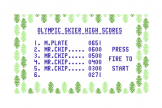 Olympic Skier (Cassette) For The Commodore 64/128