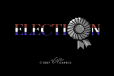 Election (Cassette) For The Commodore 64/128