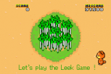 Leek Game (e-Cards) For The Game Boy Advance