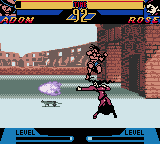Street Fighter Alpha: Warriors' Dreams Screenshot 9 (Game Boy Color)