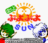 Puyo Puyo Sun Loading Screen For The Game Boy Color