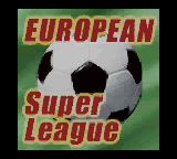 European Super League (ROM Cart) For The Game Boy Color