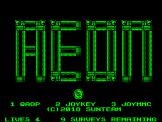 Aeon Part 2 Screenshot 0 (Acorn Atom)