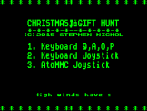 Christmas Gift Hunt Screenshot 0 (Acorn Atom)