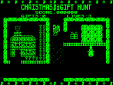 Christmas Gift Hunt Screenshot 1 (Acorn Atom)