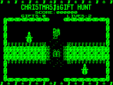 Christmas Gift Hunt Screenshot 2 (Acorn Atom)