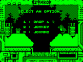 Zombo's Christmas Capers Screenshot 0 (Acorn Atom)