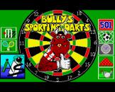 Bully's Sporting Darts Loading Screen For The Amiga 500