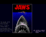 Jaws Loading Screen For The Amiga 500