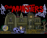The Munsters Loading Screen For The Amiga 500