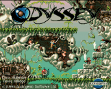Odyssey Loading Screen For The Amiga 500