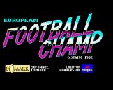 "European Football Champ (3.5"" Disc) For The Amiga 500"