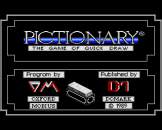 """Pictionary (3.5"""" Disc) For The Amiga 500"""