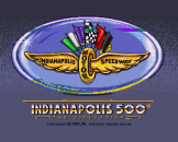 Indianapolis 500 The Simulation Loading Screen For The Amiga 500/600/1200