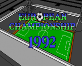 European Championship 1992 Loading Screen For The Amiga 500/600/1200