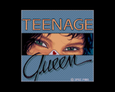 Teenage Queen Loading Screen For The Amiga 500