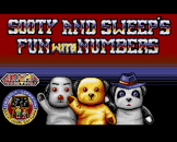 Sooty's Fun With Numbers Loading Screen For The Amiga 500/600
