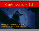 "Subversion (3.5"" Disc) For The Amiga 500"