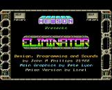 "Eliminator (3.5"" Disc) For The Amiga 500"