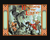 """Heroes Of The Lance (3.5"""" Disc) For The Amiga 500"""