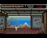 The Karate Kid Part 2 Screenshot 1 (Amiga 500)