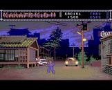 The Karate Kid Part 2 Screenshot 2 (Amiga 500)