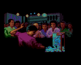 The Karate Kid Part 2 Screenshot 8 (Amiga 500)
