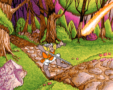 Dragon's Lair III: The Curse Of Mordread Screenshot 8 (Amiga 500)