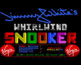 Jimmy White's Whirlwind Snooker Loading Screen For The Amiga 500