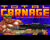"""Total Carnage (3.5"""" Disc) For The Amiga 1200"""