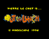 "Pierre Le Chef Is Out To Lunch (3.5"" Disc) For The Amiga 1200"