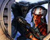 Alien Breed 3D Loading Screen For The Amiga 1200