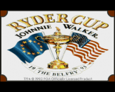 "The Ryder Cup Johnnie Walker (3.5"" Disc) For The Amiga 1200"