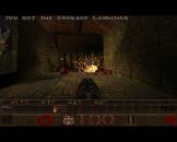 Quake 1 Screenshot 1 (Amiga 1200)
