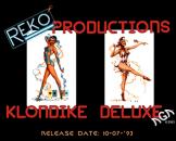 Klondike Deluxe Loading Screen For The Amiga 1200