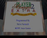 "Player Manager 2 Extra (3.5"" Disc) For The Amiga 1200"