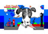 Pink Pills: Manic Moritz And The Meds Loading Screen For The Amstrad CPC464/664