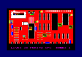 Pink Pills: Manic Moritz And The Meds Screenshot 2 (Amstrad CPC464/664)