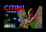 Eridu The Space Port Loading Screen For The Amstrad CPC464/664/6128