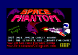 Space Phantom Loading Screen For The Amstrad CPC464/664
