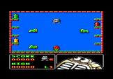 Robbie Strikes Back Screenshot 1 (Amstrad CPC464/664)