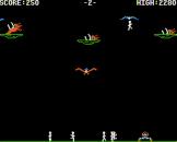 Buzzard Bait Screenshot 2 (Apple II/IIc)
