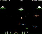 Buzzard Bait Screenshot 7 (Apple II/IIc)